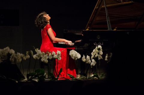 Khatia Buniatishvili on Closing Night of XXII Verbier Festival