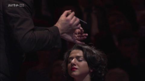 Khatia Buniatishvili on ARTE TV