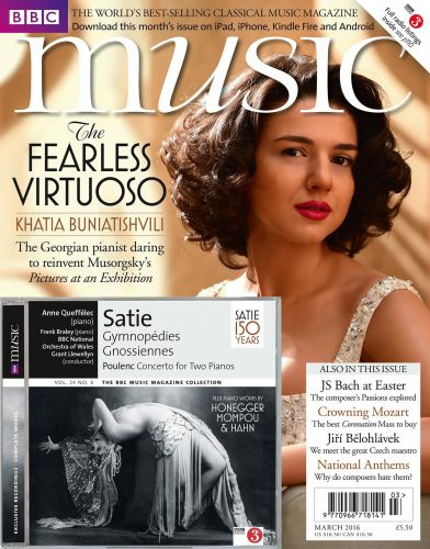 Khatia Buniatishvili covers BBC Music Magazine